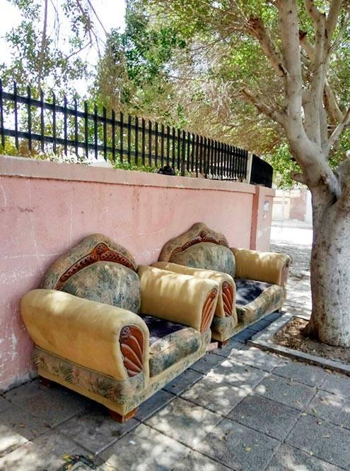 Места, чтобы передохнуть от палящего солнца на улицах Акабы