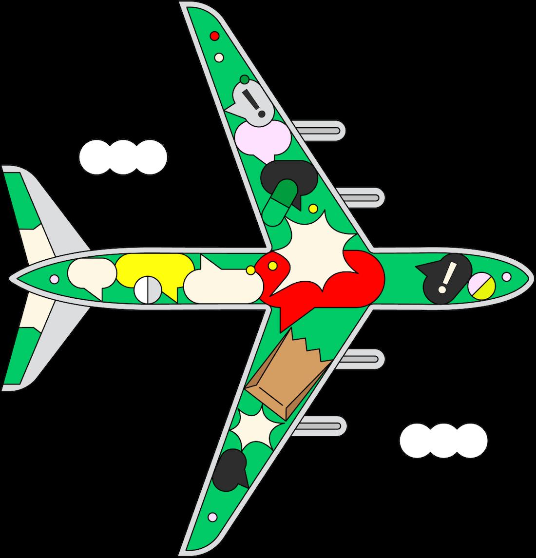 «Люди вокруг плакали и молились»: 11 историй об ужасных авиаперелетах