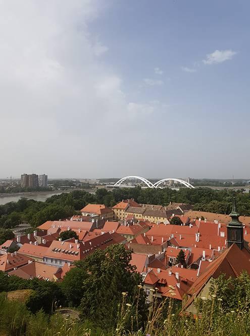 Это предместье Петроварадина, которое состоит из пяти улиц. Раньше оно было административным центром крепости