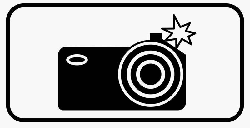 Дорожный знак 8.23 «Фотовидеофиксация». С 1 сентября 2021года он не действует