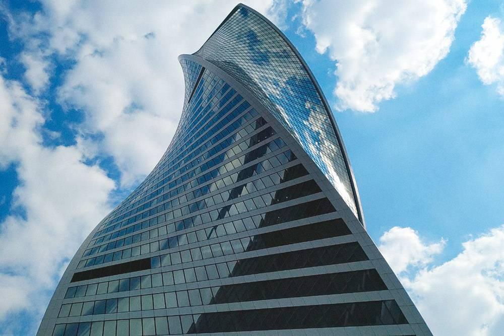 Здание в «Москва-сити», в котором у мужа онбординг