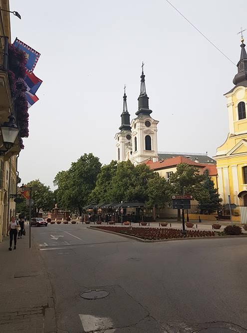 В Сремски-Карловцах по-провинциальному уютно и красиво