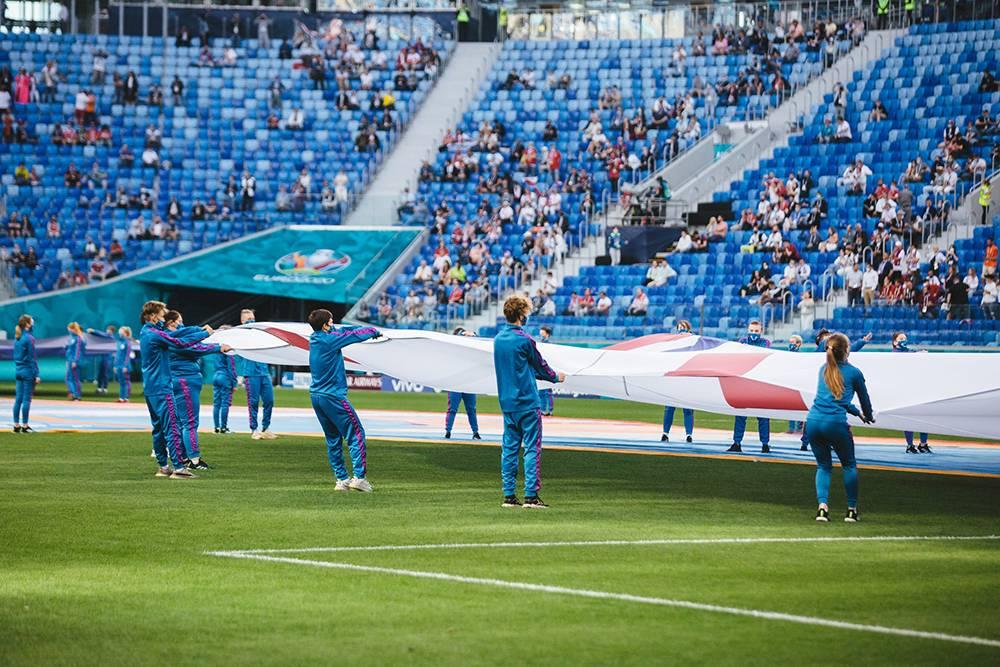 Евро-2020, 13июня 2021года. Источник: Волонтеры UEFA EURO 2020 / «Вконтакте»