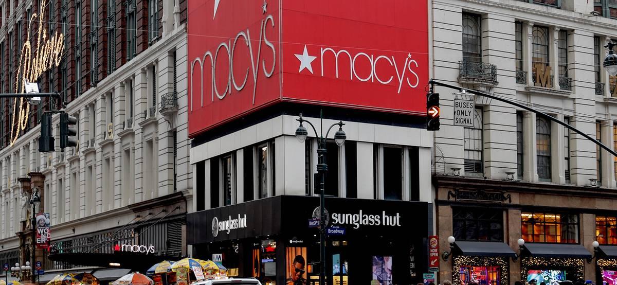 Покупатели возвращаются в торговые центры. Акции Macy's выросли на 20%