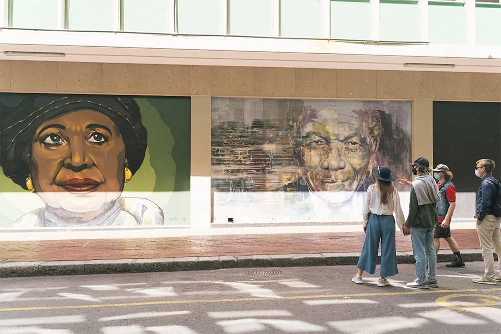 Современное искусство есть и на улицах Кейптауна