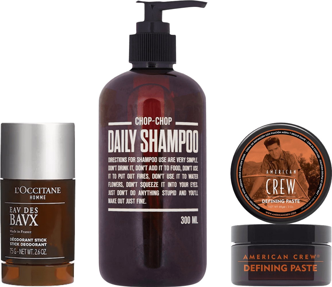 От дезодоранта до пасты дляволос: косметические средства, которые нужны каждому мужчине