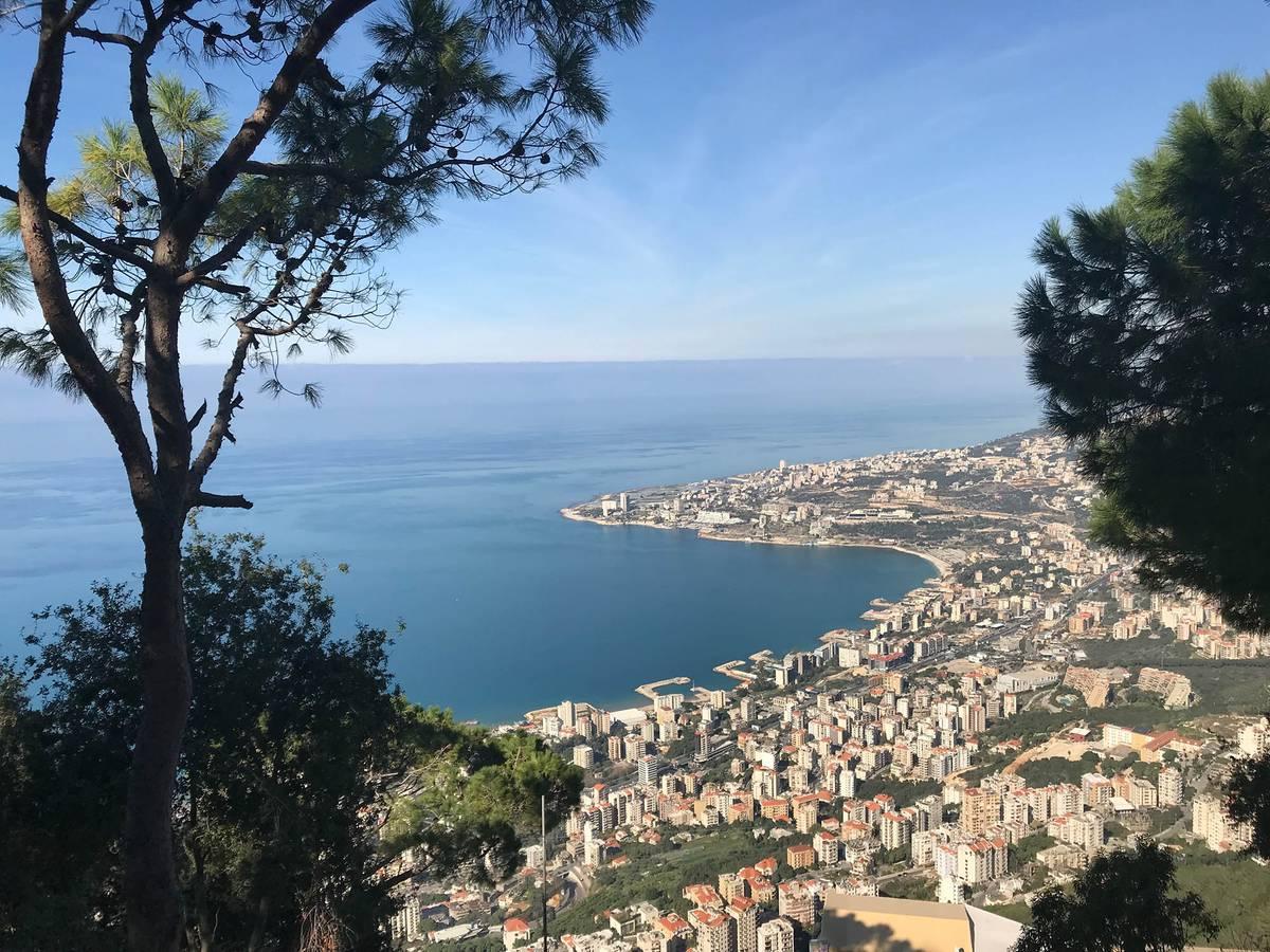 Виды Ливана из горного района Харисса