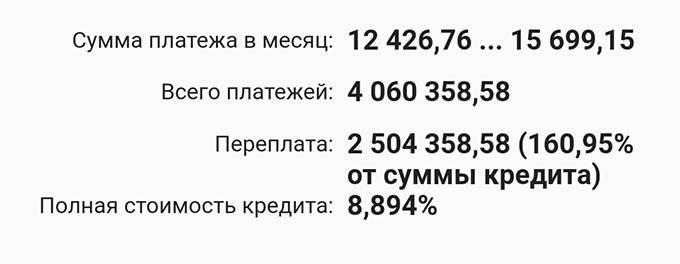 А если в 2021&nbsp;году мы будем вносить на досрочку хотя&nbsp;бы по 3000<span class=ruble>Р</span> в месяц, переплата сократится на 51 121<span class=ruble>Р</span>