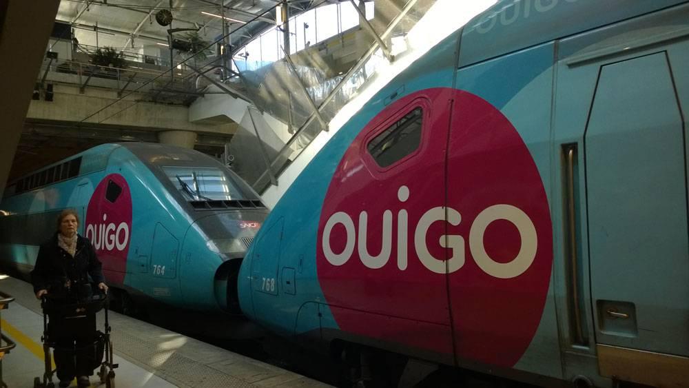 Поезд-лоукостер «Уиго»