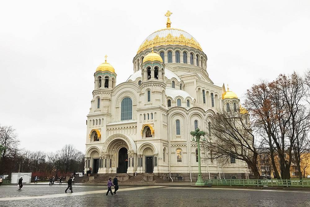 Никольский морской собор — главный морской храм России