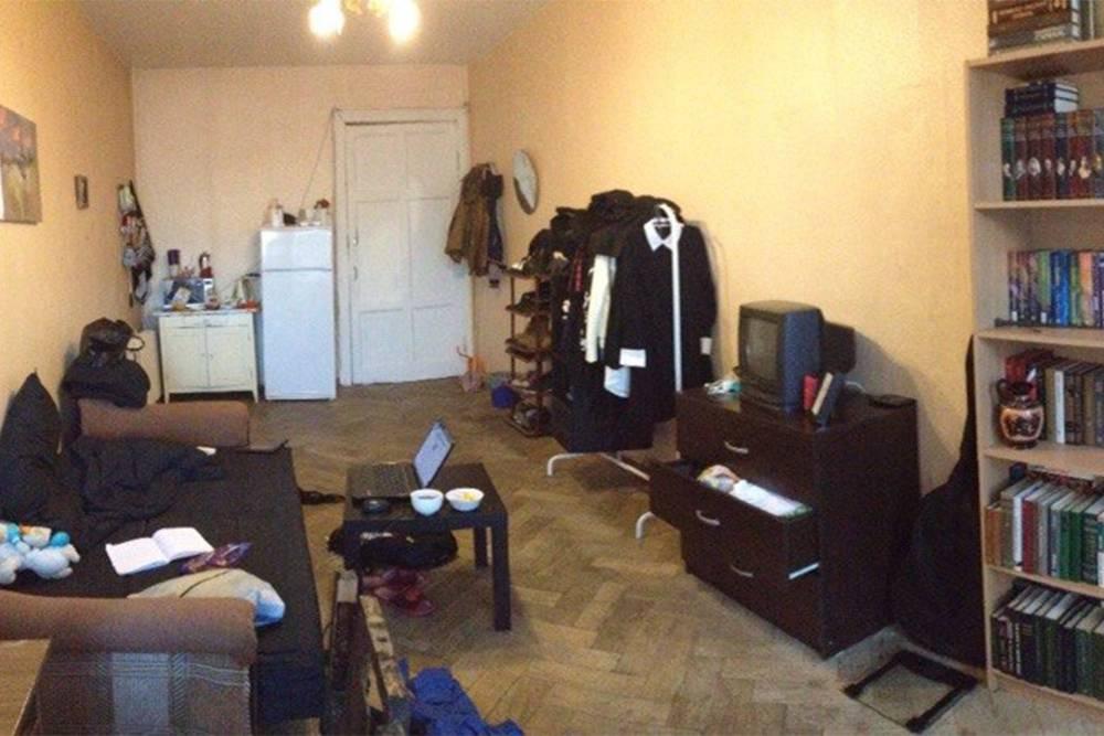 Так выглядела моя комната в коммуналке на Шестой линии