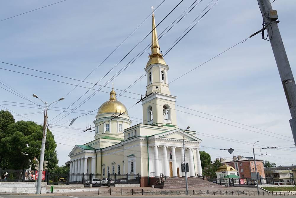 Собор Александра Невского в 1824году посещал император Александр I