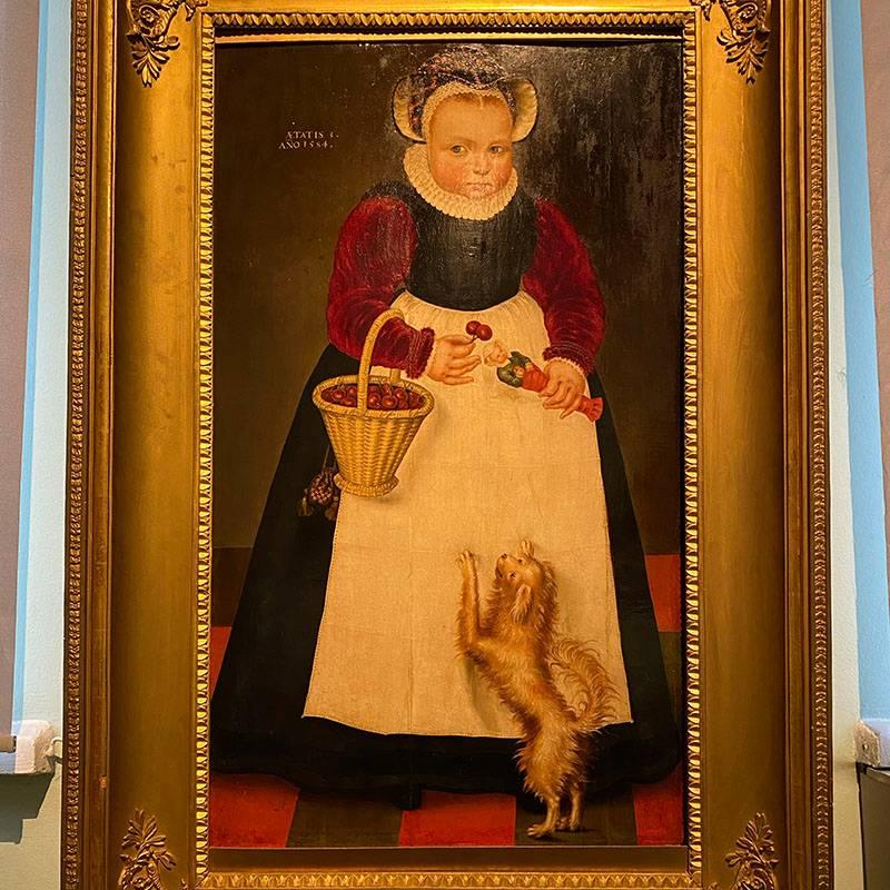 Эту картину — «Портрет девочки» — художник Изак Клас ван Сваненбюрг написал в 1584году. Мне очень нравится такой стиль