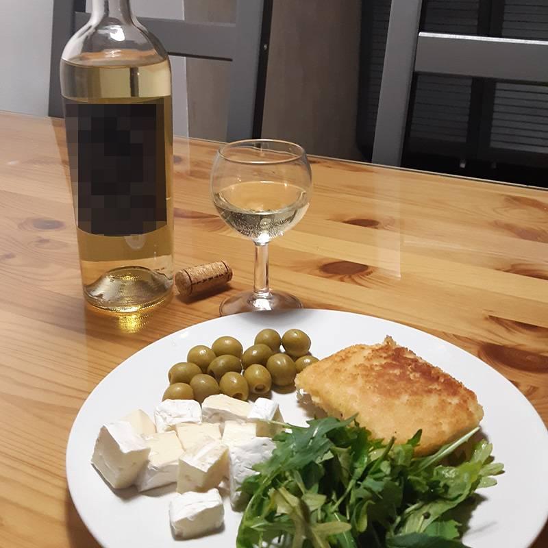 Скромный ужин поднастроение