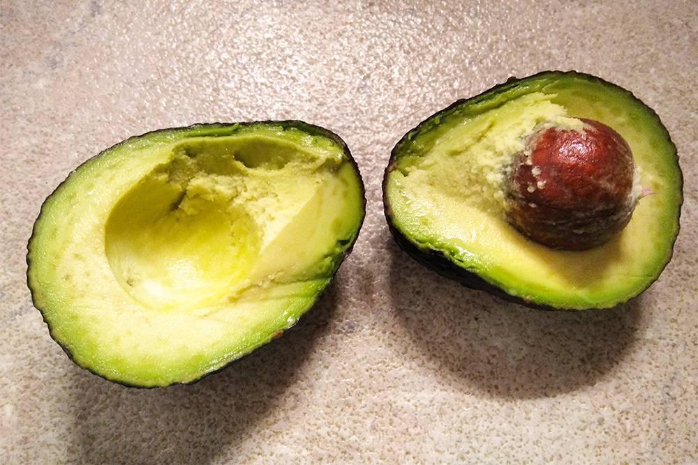 Сегодня авокадо попалось идеальное