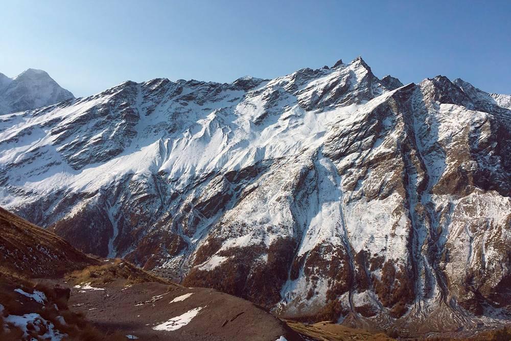 В горах снег лежит даже летом