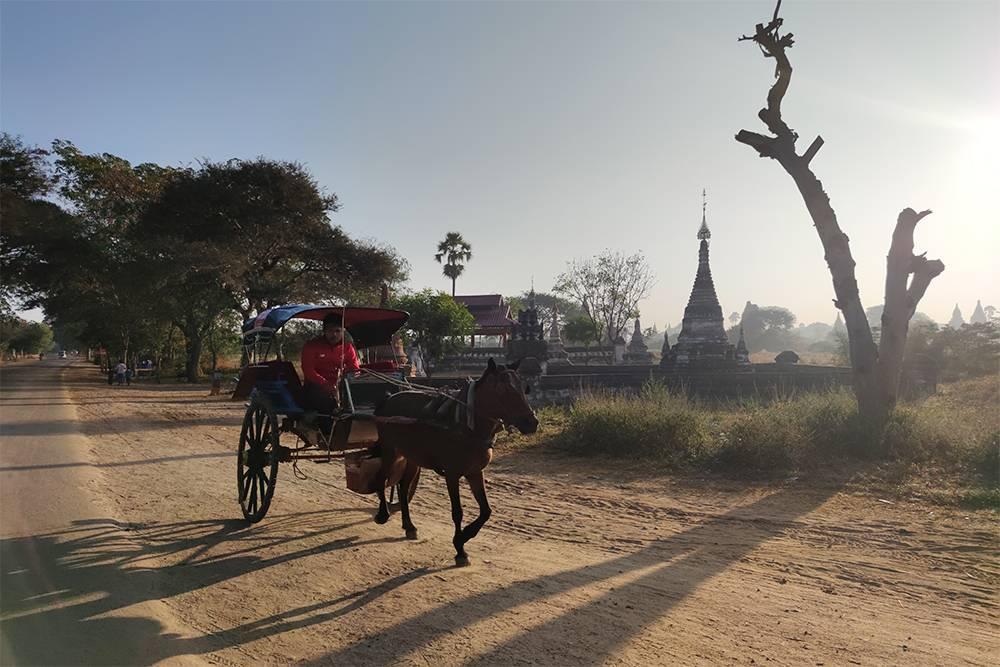 Транспорт в Багане