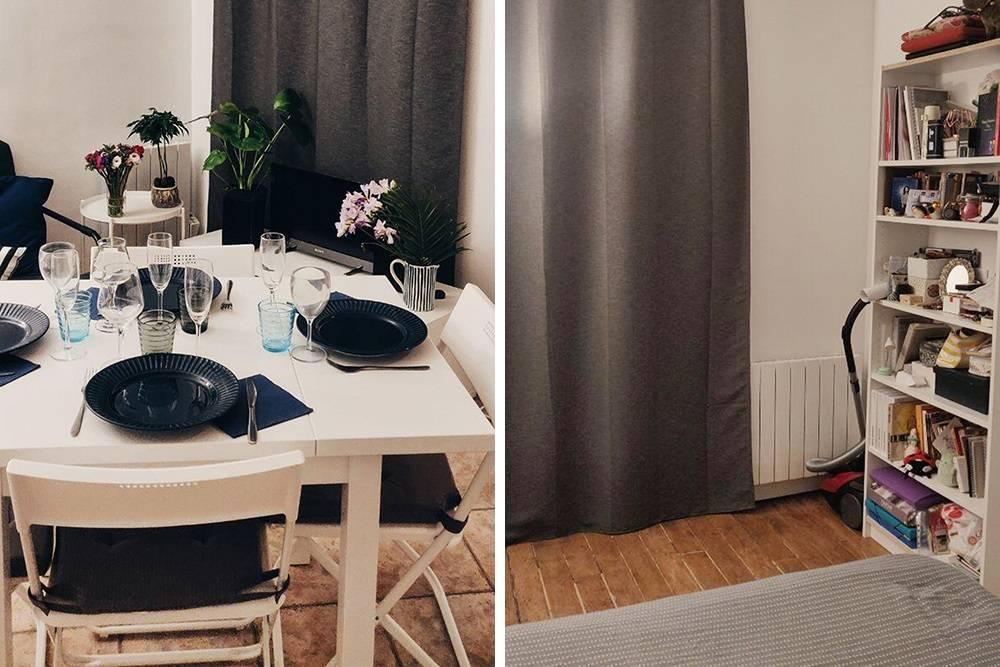 Мебель мы покупали сами. Париж называют городом дляпар: жить вдвоем иделить аренду пополам выгоднее иудобнее