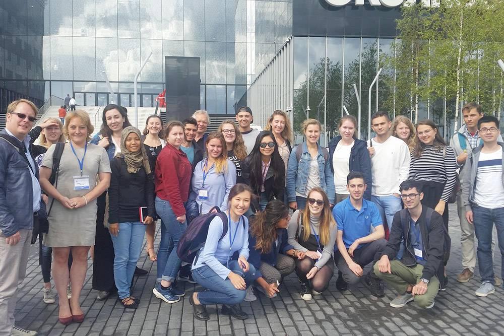 Все участники летней школы European Summer School Exploring Entrepreneurship в августе 2017года
