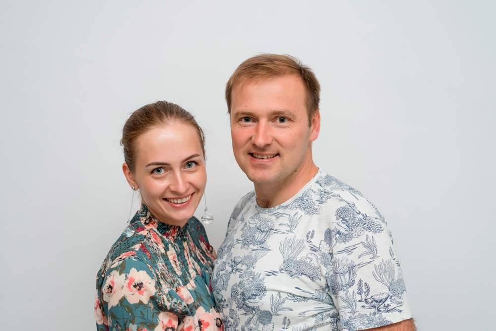 Сергей и Настя решили открыть студию плавания, куда хотелось бы приводить собственного ребенка