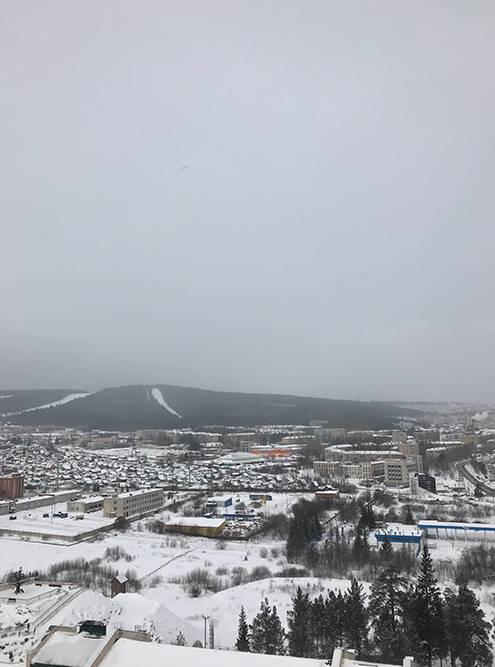 Вид со смотровой площадки башни