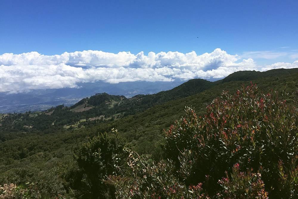 Вид с вершины вулкана Ирасу завораживает