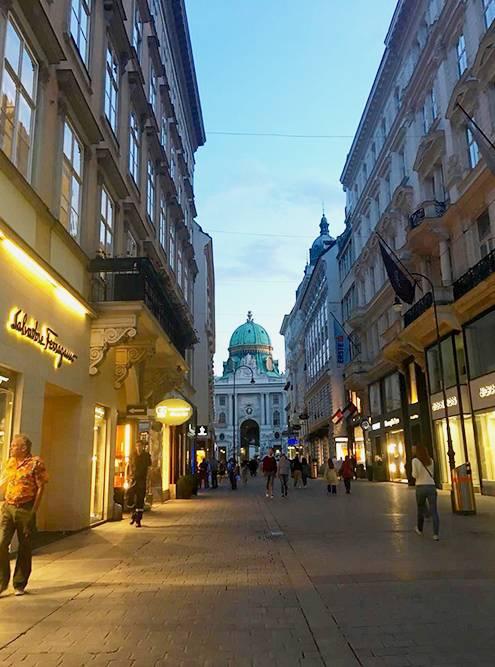 В столице Австрии приятно просто гулять по улочкам и проспектам