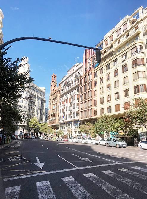 Застройка центральных районов Валенсии