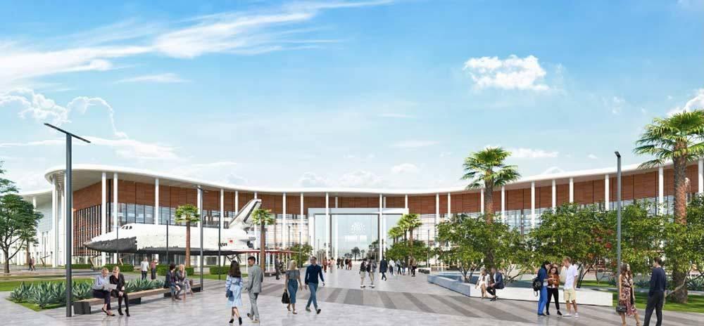 Визуализация будущего кампуса университета «Сириус». Источник: официальный сайт «Сириуса»
