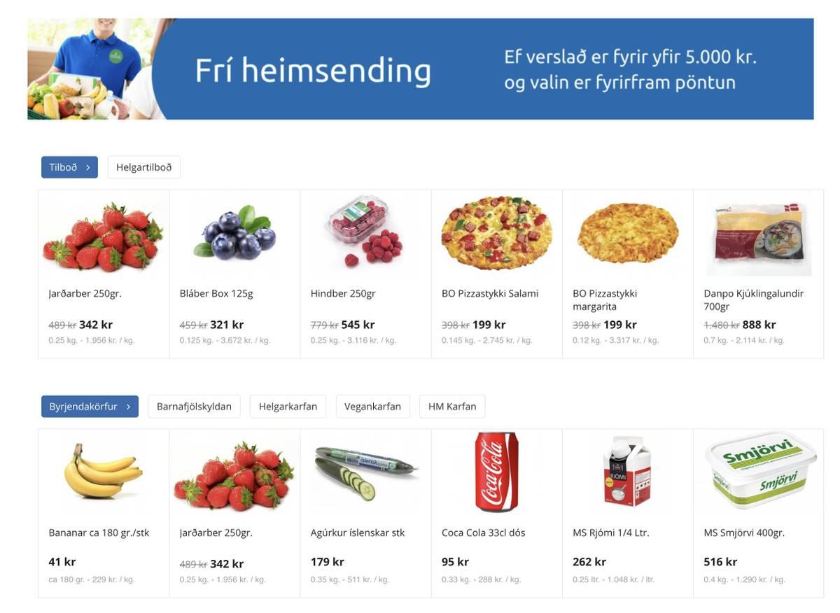 Заказать доставку еды можно только в супермаркете «Нэтто»