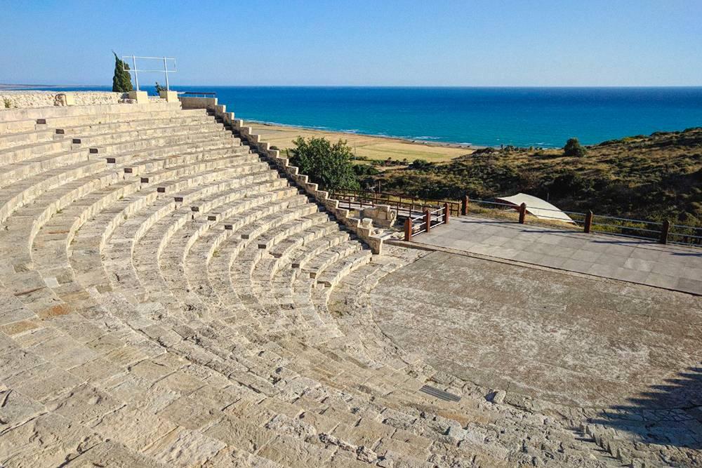 Амфитеатр в археологическом парке «Курион»