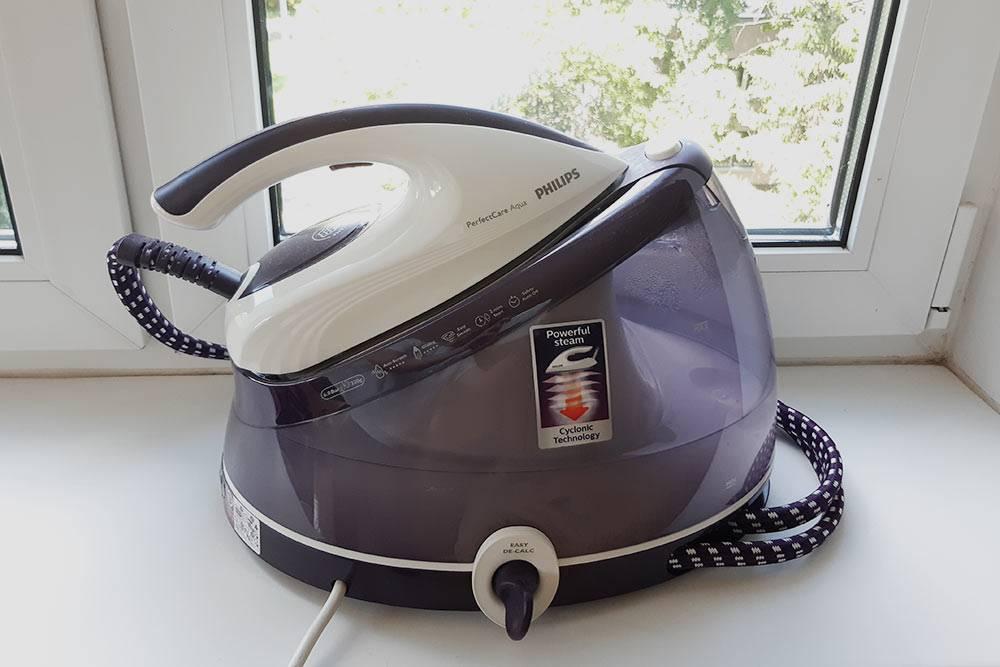 Парогенератор — идеальная машина, чтобы быстро разгладить складки на ткани перед раскроем или разутюжить шов на толстой ткани