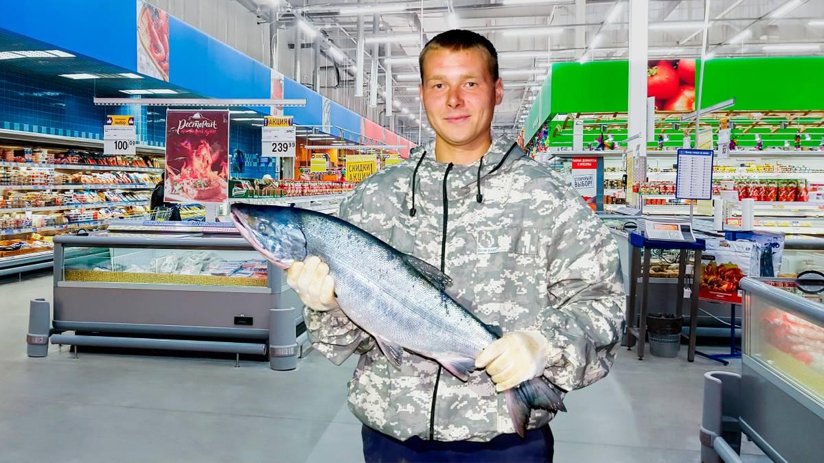 Что будет, если увезти из супермаркета рыбу и не заплатить