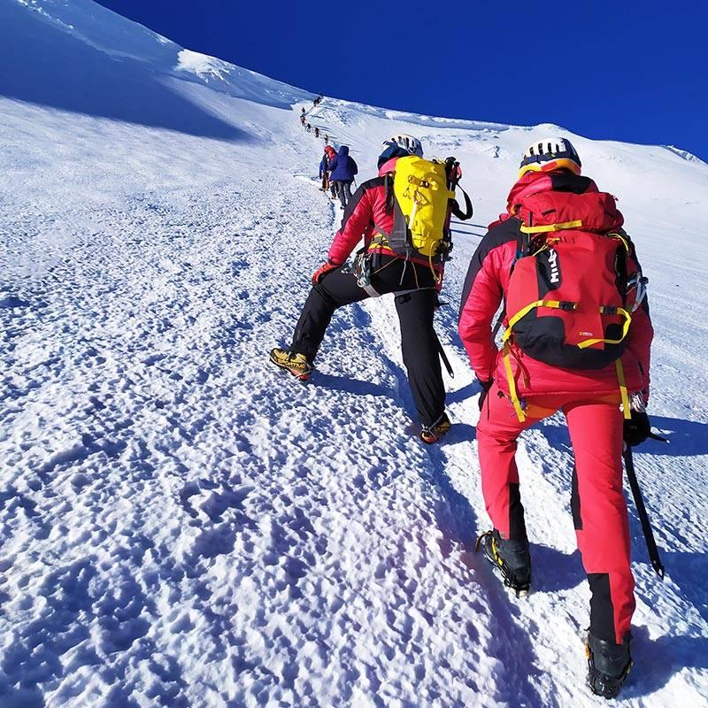 Восхождение на Казбек — на высоту 5033метра