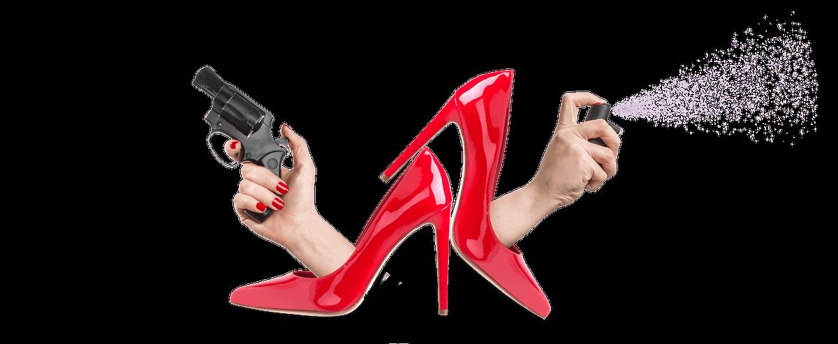 Как девушке защитить себя от грабителя