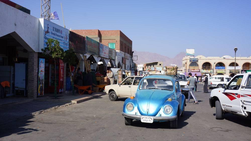 Рынок на площади Асала — самый дешевый в Дахабе
