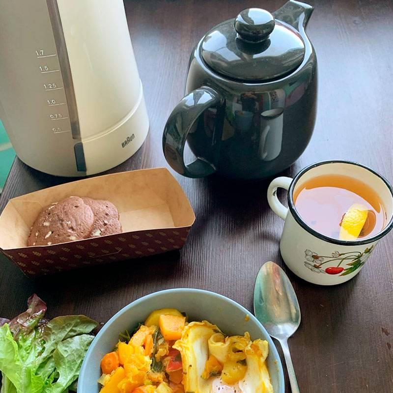 Очередной завтрак