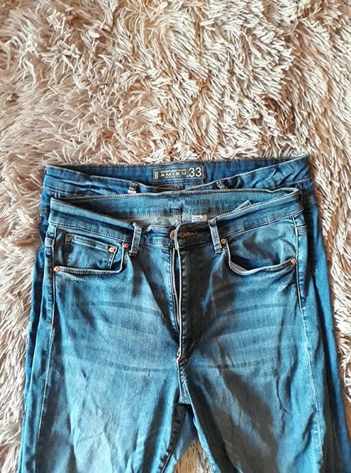 33-й «стоптанный» против 31-го. Длямотивации купила джинсы еще на два размера меньше: покупать на размер меньше неинтересно