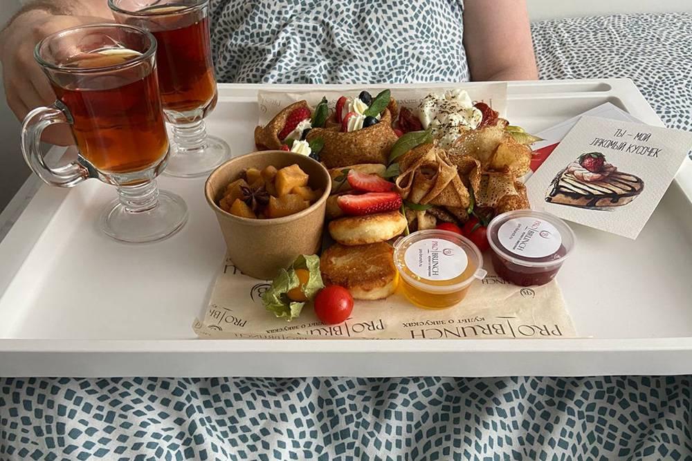 Вот так мы позавтракали в День всех влюбленных