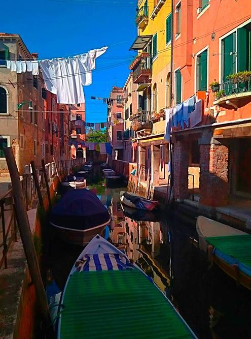 Жилые районы Венеции так же приятны моему глазу, как и центральная площадь с кафедральным собором