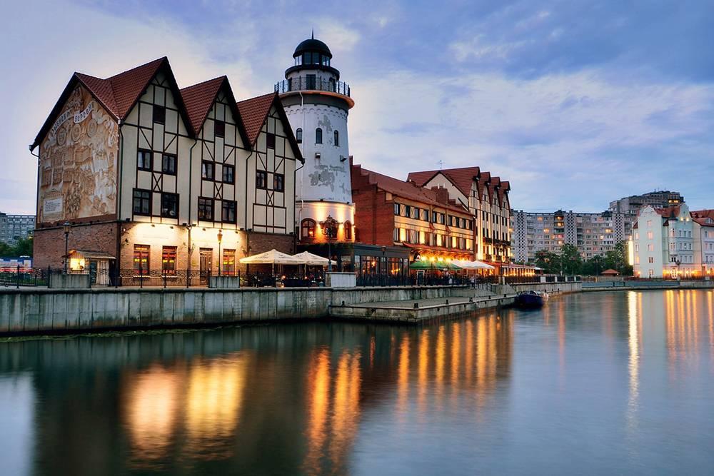Квартал «Рыбная деревня» — это новодел, но все постройки выполнены в стиле довоенного Кёнигсберга. Источник: Georg11 / Pixabay