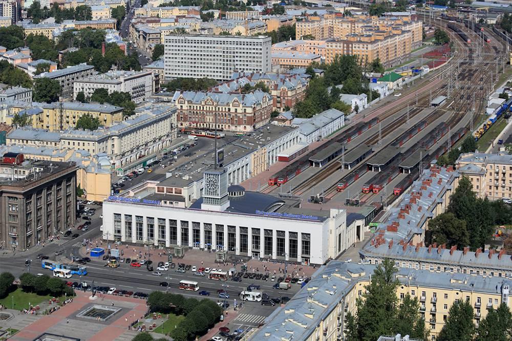Финляндский вокзал. Фото: Дмитрий Песочинский
