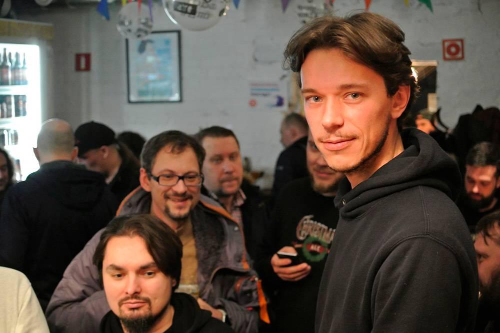 На презентации моей пивоварни Paradox в Москве в баре Share House