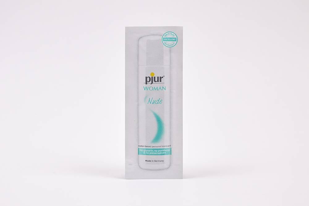 Так выглядит упаковка Pjur Woman Nude
