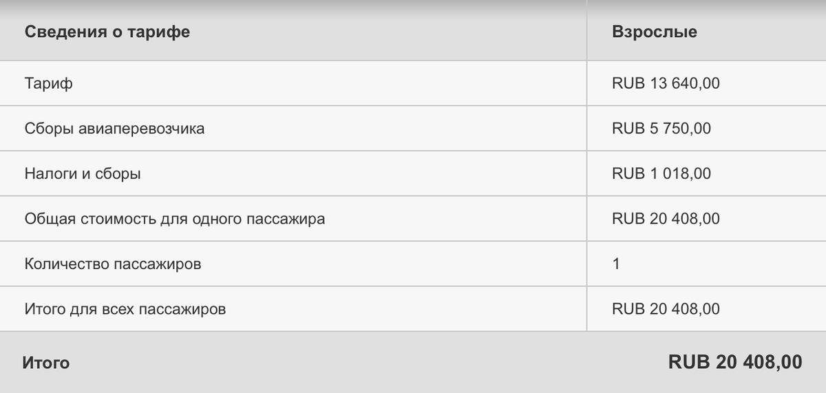 Сборы «Эмирейтс» на перелете из Москвы в Дубай — четверть стоимости билета