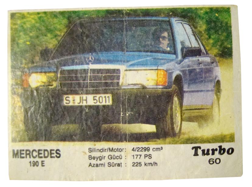 Как в «Турбо»: Четкий Мерседес 190 Е. Например, есть 29-летний за 199 999<span class=ruble>Р</span>. Останется только отпустить усы, как у водителя на вкладыше