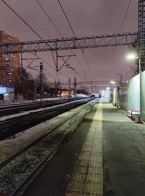 Пустая платформа