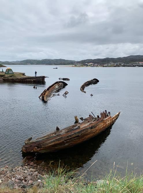 Во время прилива корабли более фотогеничны