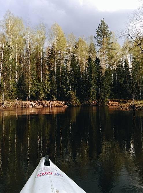 Любимое времяпрепровождение на майские — водные походы на байдарках