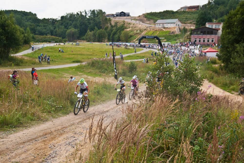 На марафон приезжают велосипедисты из России и Прибалтики